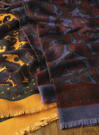 Wool Challis Scarves