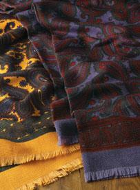 Wool Challis Scarves
