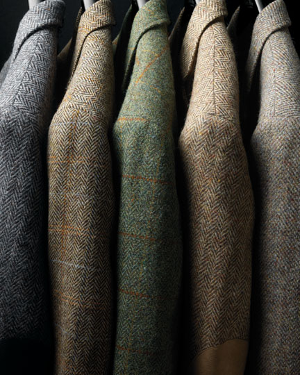G Bruce Boyer Harris Tweed The Ben Silver Collection