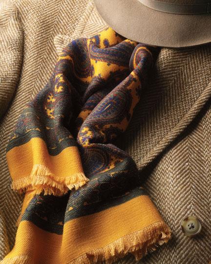 Wool Challis Scarf