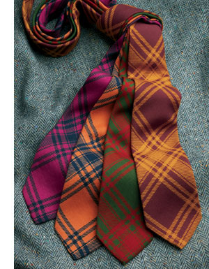 Wool Challis Neckties