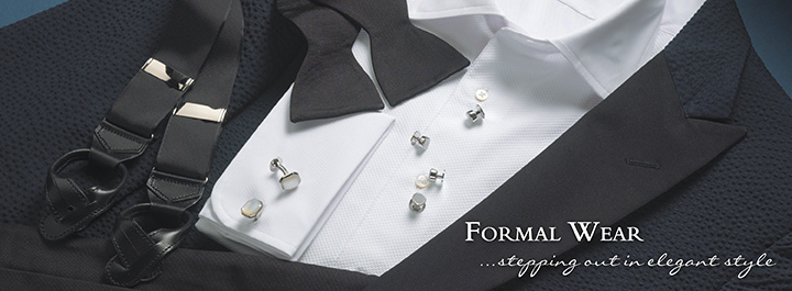 Formal wear...stepping out in elegant style