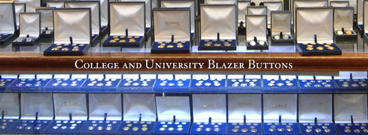 College Blazer Buttons