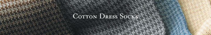 Cotton Dress Socks