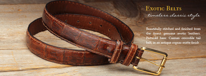 Exotic Belts