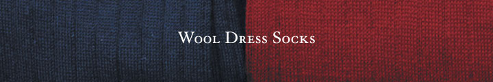 Wool Dress Socks