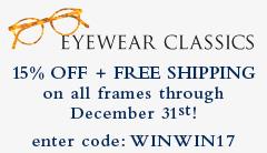 Eyewear Classics Sale