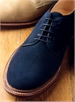 The Alden Plain Toe Bluchers in Suede