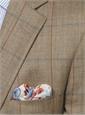 Olive and Cream Bird's Eye Sport Coat