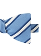 Mogador Striped Bow Tie in Cornflower
