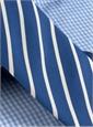 Mogador Bar Stripe Tie in Navy