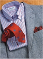Sky and Hyacinth Harris Tweed Sport Coat