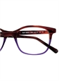 Lafont Bold Semi-Square Frame in Claret with Purple