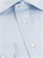 Classic Blue Twill Spread Collar