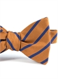 Mogador Bar Stripe Bow in Oak