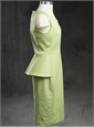 Ladies Cotton Gabardine Dress Pistache
