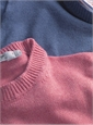 Cotton Cashmere and Silk Crew Neck Sweater