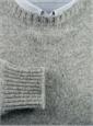 Shetland Crewneck Sweater in Cloud