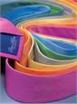 Silk Basketweave Solid Tie in Azalea