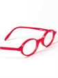 Oval Frame in Red