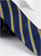 Silk Stripe Tie in Sun and Sky