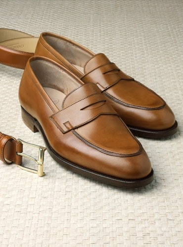 419062dbfa6 The Rosebery Loafer in Antique Tan. mouse over the thumbnails for alternate  views. Preload Preload Preload Preload