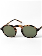 Round Arched Sunglasses in Tortoise