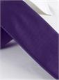 Mogador Silk Solid Signature Tie in Violet