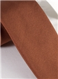 Mogador Silk Solid Tie in Burnt Orange