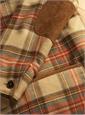 Wool Dress Stewart Blanket Jacket