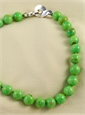 Green Turquoise Necklace by Patricia Von Musulin
