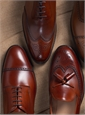 The Draycott Blucher in Burnished Chestnut