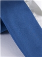 Mogador Silk Solid Tie in Royal