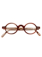 Francois Pinton Archival Round Frame in Brown