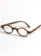 Archival Round Frame in Brown