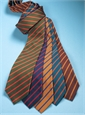 Mogador Bar Stripe Tie in Oak