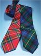 Wool Tartan Tie in Farquharson