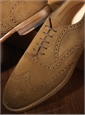 The Fayetteville Oxford in Spice Suede