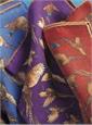 Wool Pheasant Motif Pocket Square