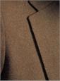 Olive and Brown Melange Tweed Sport Coat