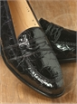 The Crocodile Loafer in Black