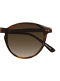 P3 Sunglasses in Brown with Gradient Brown Lenses
