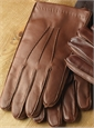 Rabbit Lined Nappa Leather Gloves