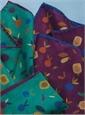 Wool and Silk Fruit Printed Pocket Squares
