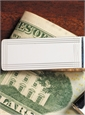 Sterling Corner Check Money Clip