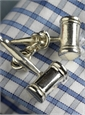 Sterling Silver Double Gavel Cufflinks