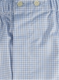 Boxers Blue and White Grid Check