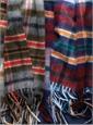 Vintage Check Cashmere Scarves