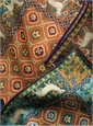 Wool and Silk Mosaic Print Pocket Squares