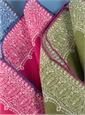 Linen Paisley Motif Pocket Squares